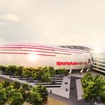 So sieht's aus? Nein, das ist kein realer Plan für die Arena, sondern ein Entwurf des Lahmer Architekten Daniel Löprich.