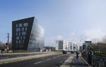 Kristall, Diamant? Auf dem Grundstück Schnewlinstraße 12 wird bald der Bau für eine städtebauliche Markante beginnen.