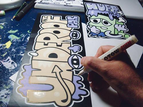 Früh übt sich: Der Künstler malt seit er 14 Jahre alt ist.
