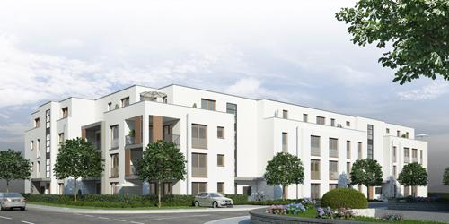 Zeitlose Architektur, zentrale Lage: Mitten in Neuenburg entstehen bald 27 neue Wohnungen made by Stuckert.