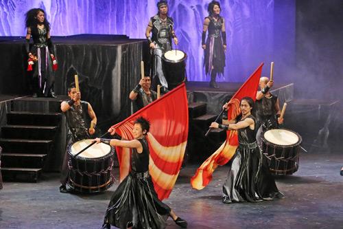 Japanische Trommelkunst von TAO. Foto: KOKO & DTK Entertainment GmbH
