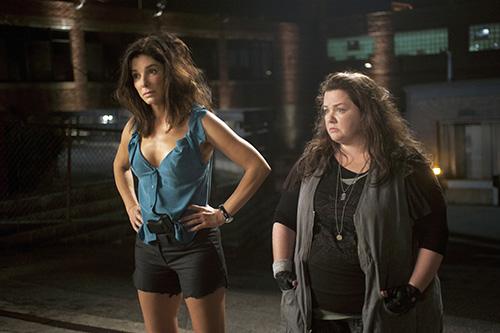 Szene mit Sandra Bullock und Melissa McCarthy.