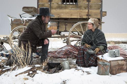 George Briggs (Tommy Lee Jones) und Mary Bee Cuddy (Hilary Swank) haben mit dem Wintereinbruch zu kämpfen.