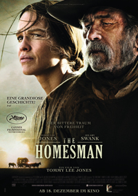 """The Homesman"" feierte seine Premiere in Cannes."