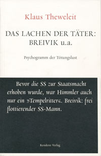 """Klaus Theweleits neues Buch """"Das Lachen der Täter"""""""