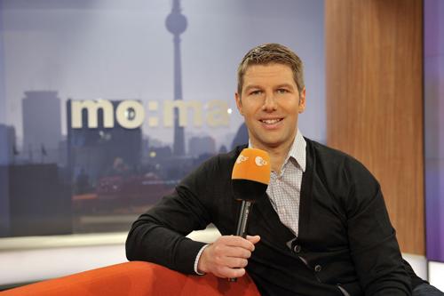 """""""Ich gehe den Job sehr gewissenhaft an und bin zuversichtlich, dass alles klappen wird"""": Thomas Hitzlsperger (32) stellt sich der Herausforderung Fernsehen ohne größere Aufregung."""