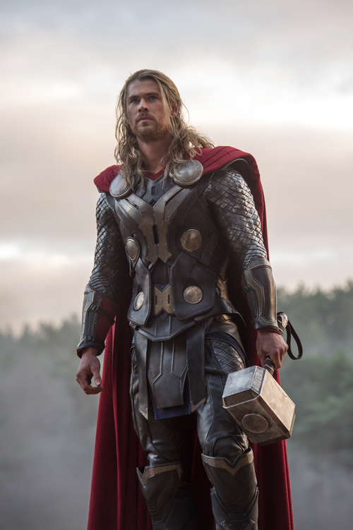 Thor (Chris Hemsworth) dämmert bald, dass er Unterstützung braucht.