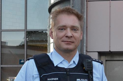 Passioniert: Hauptkommissar Peter Wagner leitet eine Einsatzgruppe im Revier Nord.