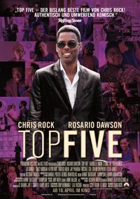 """Chris Rock, eigentlich für deftige Komödien bekannt, überrascht in """"Top Five"""" als Regisseur und Hauptdarsteller mit nachdenklichen bis satirischen Untertönen."""