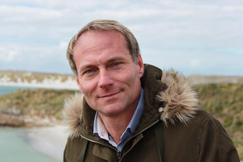 Falklands-Tourismus-Chef Tony Mason