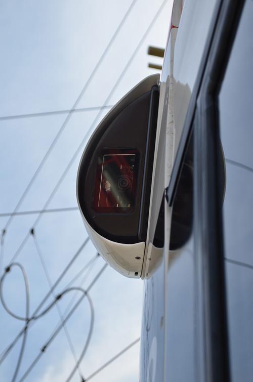 Modern: Die Seitenspiegel wurden beim Urbos durch Kameras ersetzt
