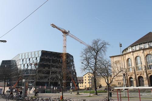 Der ebenfalls dunkle Diamant zu Freiburg.