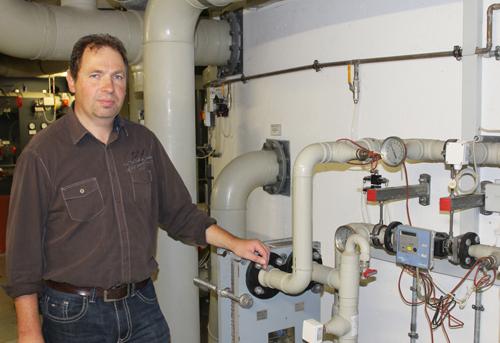 Technikchef Christian Bronner weiß, wie man Abwasser noch sinnvoll nutzen kann.