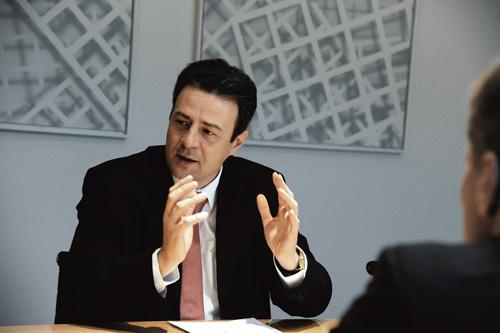 Freiburger Volksbank-Vorstand Uwe Barth