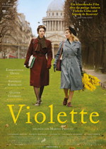 Sandrine Kiberlain als Simone de Beauvoir (links) und Emmanuelle Devos als Violette Leduc glänzen in einem Biopic über eine Pionierin feministischer Literatur.