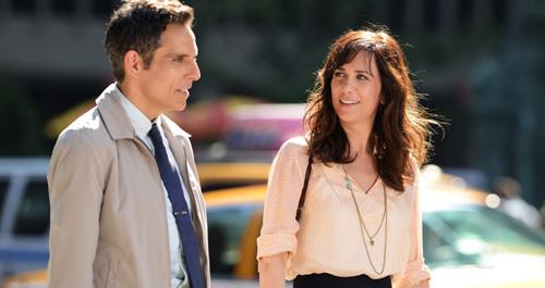 Scheue Gefühle: Walter Mitty (Ben Stiller) schwärmt für seine Kollegin Cheryl (Kirsten Wiig).