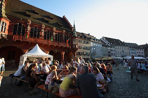 Das Freiburger Weinfest