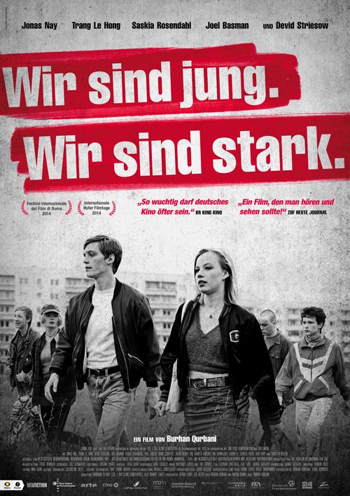 """Mit """"Wir sind jung. Wir sind stark"""", einer Aufarbeitung der Ausschreitungen in Rostock-Lichtenhagen 1992, ist Regisseur Burhan Qurbani ein kleines Meisterwerk gelungen."""