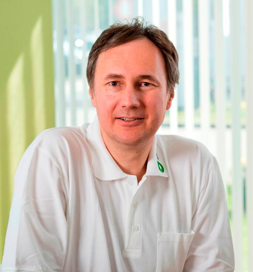 PD Christian Weißenberger, Leiter des Zentrums für Strahlentherapie