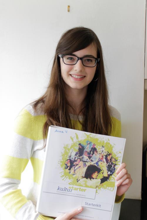 Seit Februar ist Anna Ververis aus Emmendingen Kulturstarterin.
