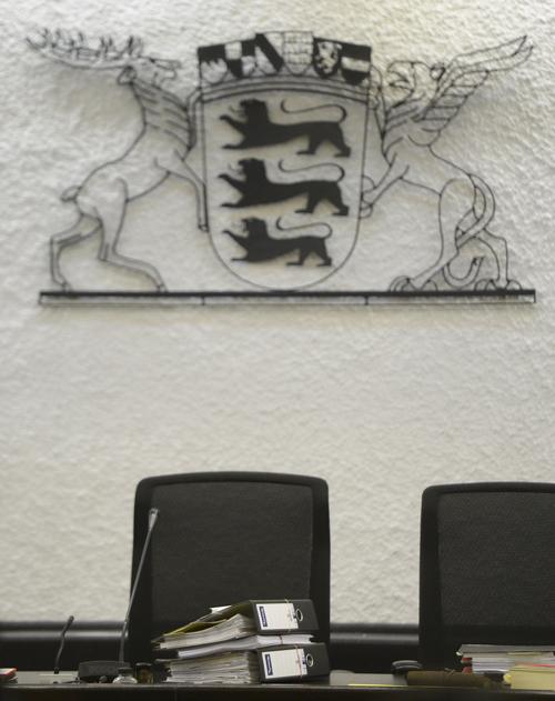 Richter am Amtsgericht Freiburg bedroht - glücklicherweise nur mit einer Soft Air-Pistole. Foto: dapd/Daniel Maurer