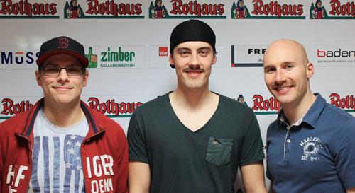 Hönkhaus, Peleikis & Rießle im Movember