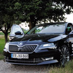 chilli-car-check: Ich und mein Skoda Superb