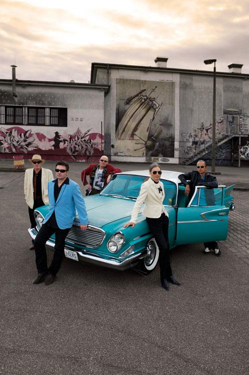 The Teddyshakers – eine über die Grenzen Freiburgs hinaus bekannten Rock'n'Roll-Band.