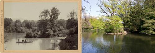 Waldsee damals und heute
